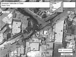 صورة فضائية بتاريخ 31/5/2012 لقرية الأتارب في سوريا تظهر ما تقول الولايات المتحدة أنها مصفحات مدرعة متمركزة في المدينة.