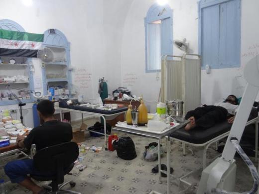 مستشفى-ميداني-سورية